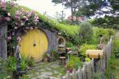 Hobbiton, Shire, New Zealand — Stock Photo