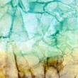 Abstract grunge watercolor background, painted on crumpled paper texture — Stock Photo #52128941