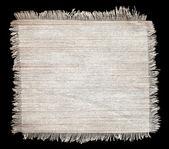 Flap burlap texture, piece of natural material — Stock Photo