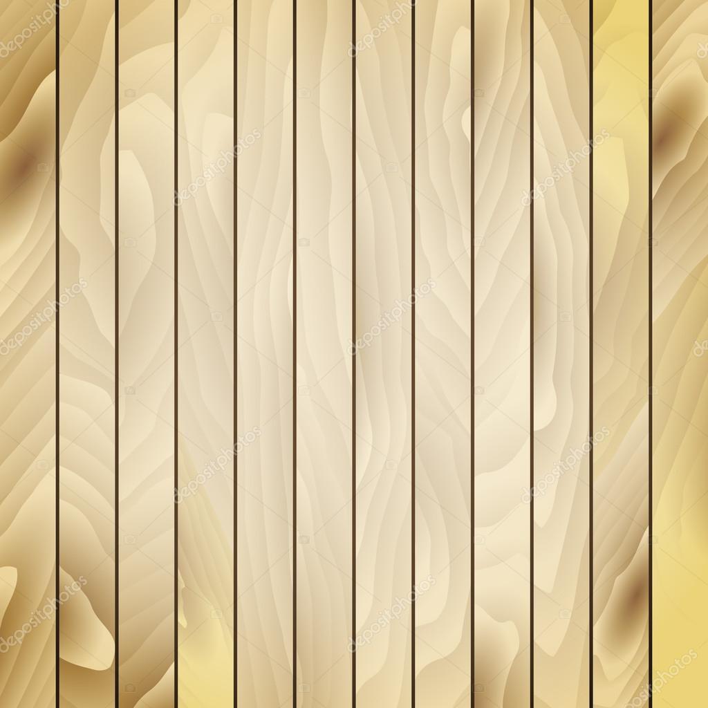 Texture leggera di legno marrone con verical tavole — Vettoriale ...