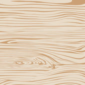 Light brown wooden plank, cutting board, floor or table surface. — Vector de stock