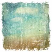Luce blu cielo, nuvole e sole. tempo d'estate. — Foto Stock