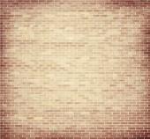 Light brown brick wall texture — Stock Vector