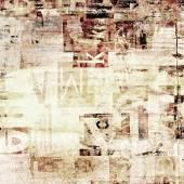 Newspaper, magazine grunge letters background — Stock Photo