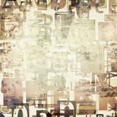 Gazete, dergi grunge arka plan mektuplar — Stok fotoğraf
