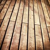 Brown wooden planks texture or floor suface — Stock Photo