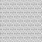 Symmetrical geometric shapes black and white vector textile backdrop. Can be use as fabric pattern. — Vector de stock