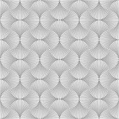 Symmetrical geometric shapes black and white vector textile backdrop. Can be use as fabric tablecloth pattern. — 图库矢量图片