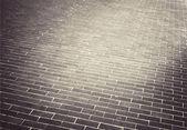 Light brown brick stone street road. Sidewalk, pavement texture — Stock Vector