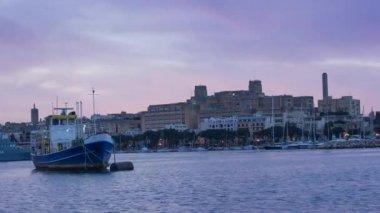 Marine of Valletta, Malta — Stock Video