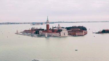 Venice, San Giorgio Maggiore — Stock Video