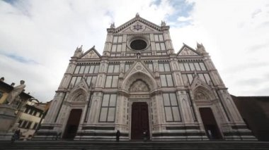 The Duomo Cathedral in Florence — Stock Video