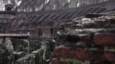 Ancient Colosseum Rome — Stock Video