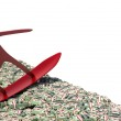 Surfer on a wave of cash. 3d image — Stock Photo #61900371