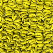 Bunch of ripe bananas background — Stock Photo