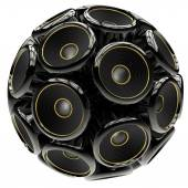 Speaker sphere — Stock Photo