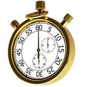 Gold chronometer — Stock Photo