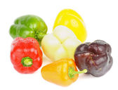 Mix Bell Peppers — Stock Photo