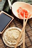 Preparing Sushi — Stock Photo