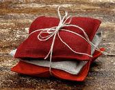 Saszetka włókienniczych — Zdjęcie stockowe
