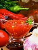 Bruschetta Sauce — Stock Photo