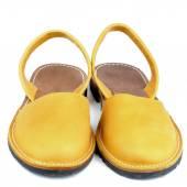Sandały żółte — Zdjęcie stockowe