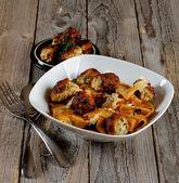 Pasta with Meatballs — Stock Photo