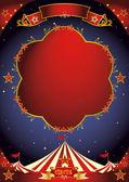 Circus poster night — Stock Vector
