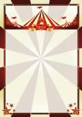 Raios solares de circo vintage fundo — Vetor de Stock
