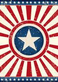 US flag star — Stock Vector