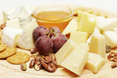 Gourmet cheese — Stock Photo