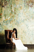 Fashion brunette woman — Stock Photo
