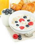 Breakfast - healthy eating — Stock Photo