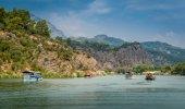 Dalyan river tour — Stok fotoğraf