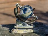 Vintage sea navigation instrument — Stock Photo