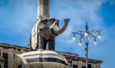 Elephant monument — Stock Photo