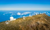 La Palma observatory — Stock Photo