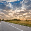 Sunrise at the road — Stock Photo #55596463
