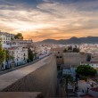 Dalt Vila fortress at sunset — Stock Photo #56046765