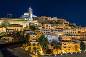 Ibiza old town Dart Vila — Stock Photo