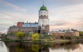 Viborg Medieval castle — Stock Photo