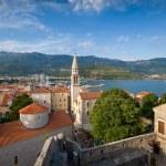 Budva old town landscape — Stock Photo #78815644
