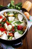 Comida vegetariana saludable — Foto de Stock