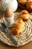 Vynikající croissanty — Stock fotografie