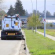 Rear View of Street Sweeper — Stock Photo #54645093