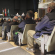 Audience Listen to Local mayoralty Debate — Stock Photo #56390293