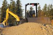 Earth Movers — Stock Photo