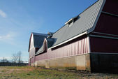 Large Modern Barn with Metal Roof — Stock Photo