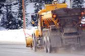 Rural Snowplow — Stock Photo