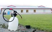 Disinfectant for Avian Flu — Stock Photo